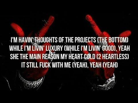 Moneybagg Yo - FWM Ft. Lil Baby (LYRICS) 2 Heartless