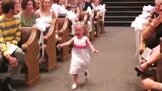 17 Kids Who Are So Done With Weddings