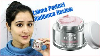 Lakme Perfect Radiance Skin Whitening Night cream Full Review and Demo