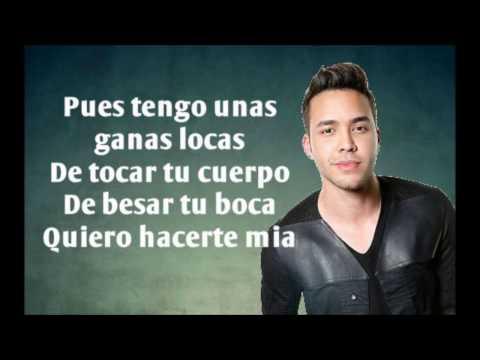Prince Royce  ft. Farruko - Ganas Locas (Letra)