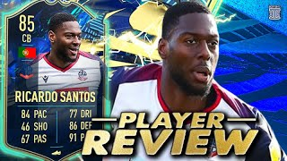 WHERE DID HE COME FROM?!😱 85 TEAM OF THE SEASON RICARDO SANTOS PLAYER REVIEW! FIFA 21 ULTIMATE TEAM