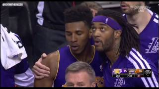 Repeat youtube video Nick Young Alex Len ejection