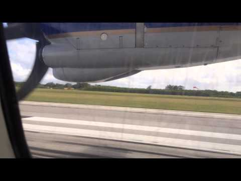 United Express Operated by Cape Air ATR 42 Landing at Saipan International Airport (SPN)