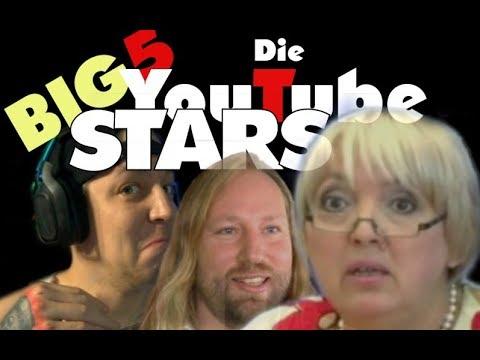 Big5 : Unsere YT Srars - Die beliebtesten Politiker EVER - Hofreiter Drachenlord Roth & MontanaBlack