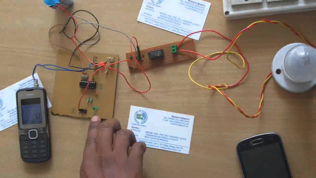 DTMF BASED HOME AUTOMATION WITHOUT MICROCONTROLLER BY ABHISHEK YouTube