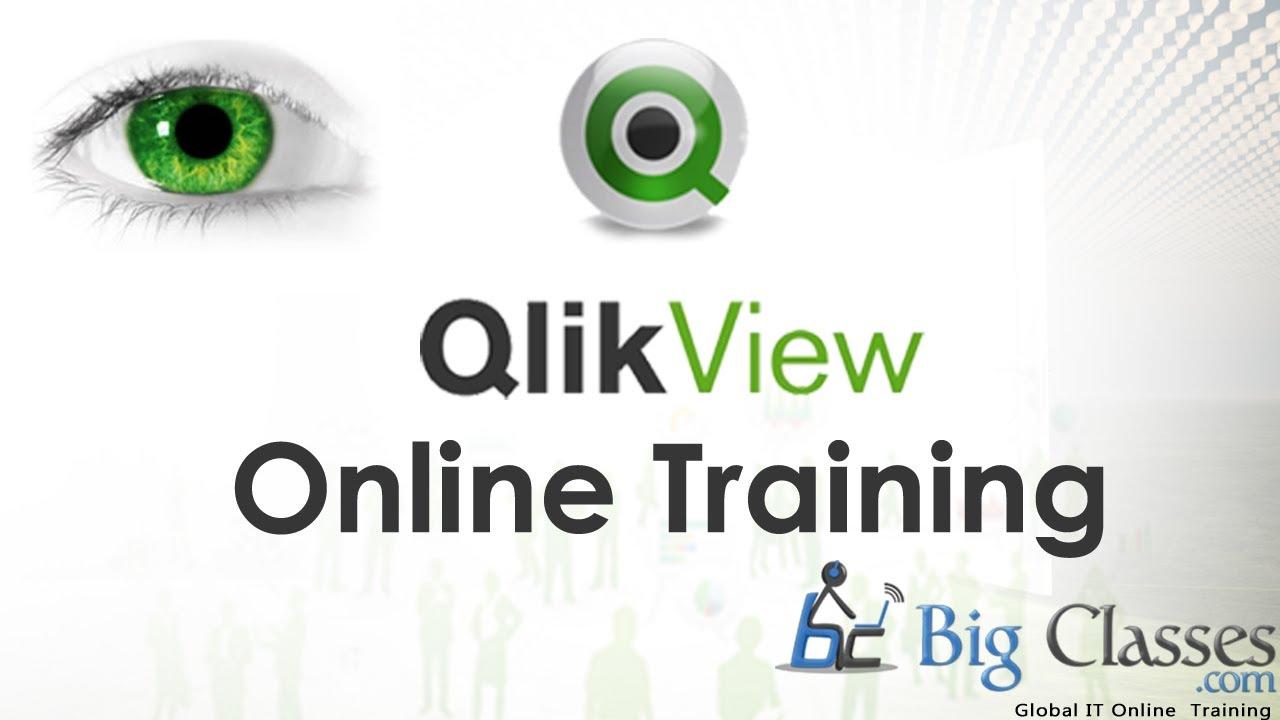 Qlikview Online Training - Qlikview Training Tutorials - Bigclasses