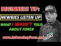 What I WASN'T Told About Trading Forex - So Darn Easy Forex™