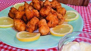 Cazón en adobo un pescado frito DELICIOSO(A mi manera)
