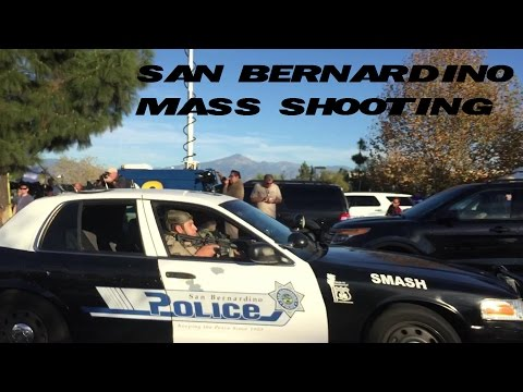 SAN BERNARDINO CALIFORNIA MASS SHOOTING | LIVE ON LOCATION