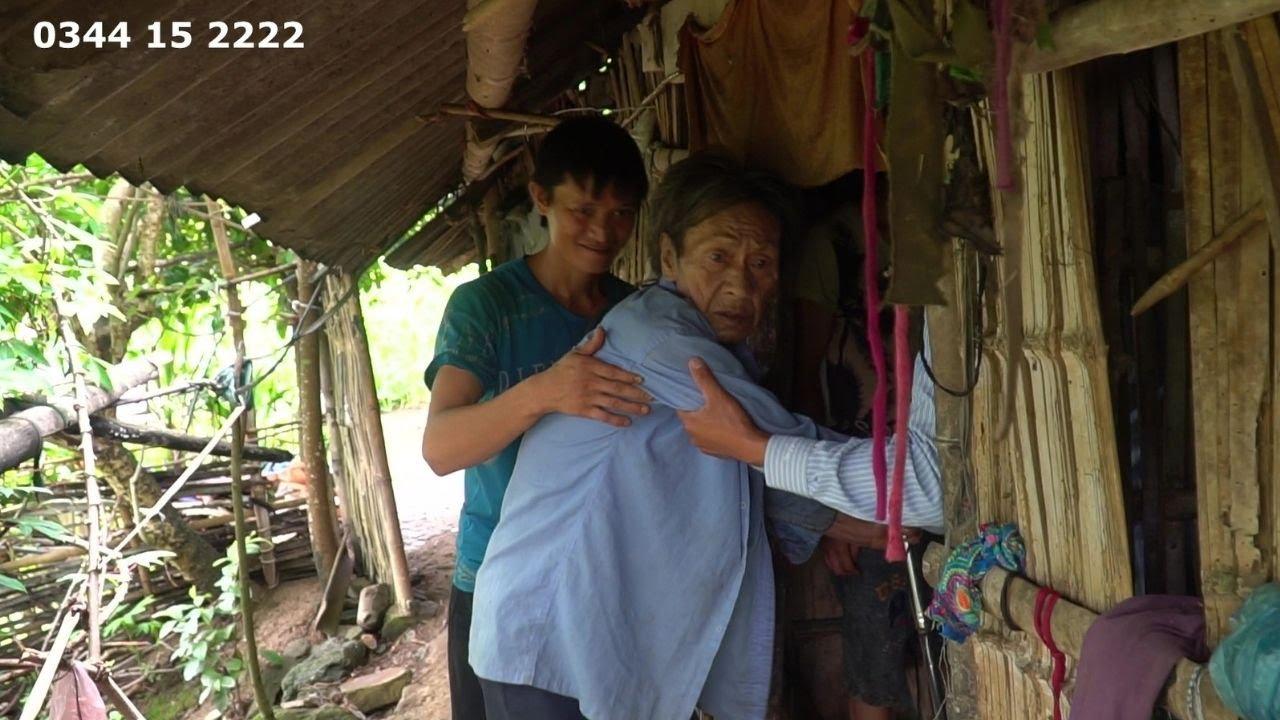 Nhìn Hoàn Cảnh Ông Bà Cụ 100 Tuổi Không Nơi Nương Tựa Mà Nước Mắt Tôi Cứ Tuôn Trào