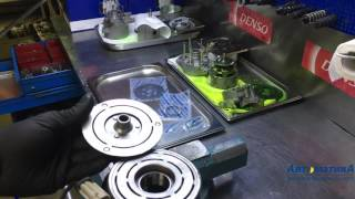 Tushunish ko'tarib, pulley / C kompressor almashtirish Opel Astra , Meriva, Zafira.