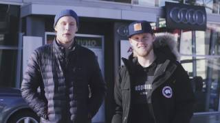 Patrik Laine and Nikolaj Ehlers Surprise Kids at Hockey Practice