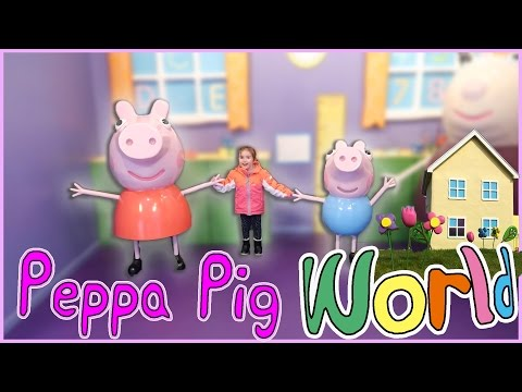 Peppa pig world | LUNA DE MIEL | Vlogs diarios
