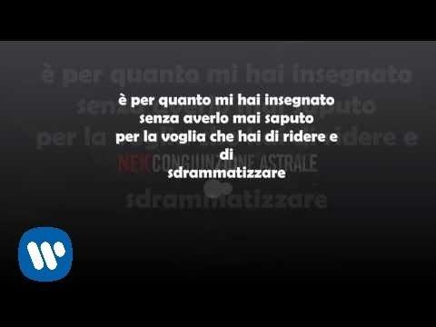 Nek Italy Congiunzione Astrale Lyrics English Translation