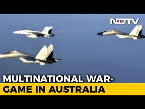 Exercise Pitch Black 2018: Indian Sukhoi Fighters Over Australia