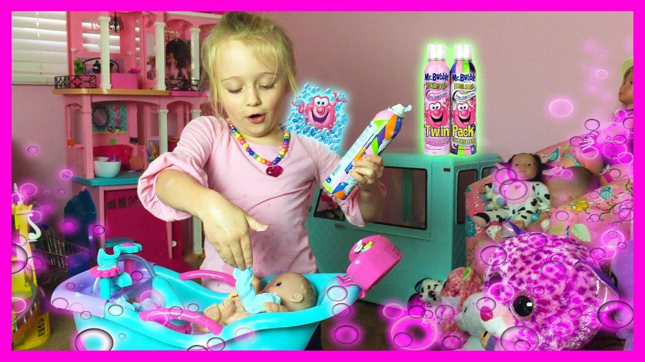 Mr Bubble Magic Crackles Bath Baby Alive Lil Cutesies