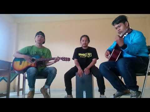 Sesana Akustik Cover Uje (bidadari surga) trio cengosss