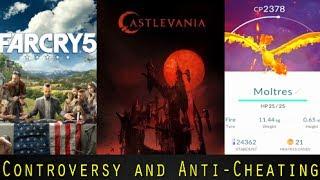 Anti-Cheating Pokemon GO Update, Castlevania Netflix Trailer, and Far Cry 5 Controversy