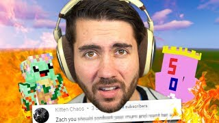 I Let My Fans Roast Me In Minecraft (BAD IDEA!)