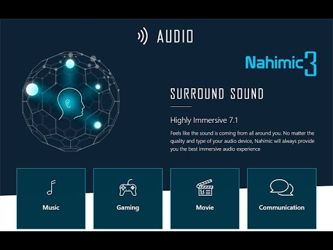 Nahimic For Gamers || Windows 10 || Surround Sound || How To Download & Install || Nahimic 3 || 2020
