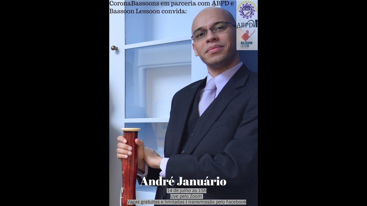 Live com o professor André Januário