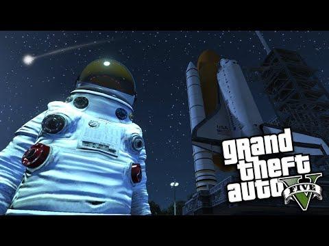 GTA 5 Mods - OUTER SPACE MOD #1 (GTA 5 Mods Gameplay)