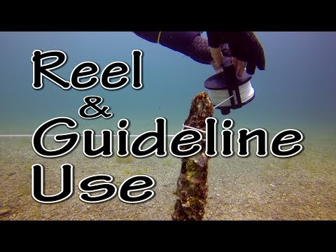 Scuba Diving Skills - Reel And Guideline Use