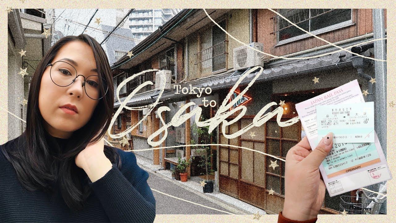 Taking The Shinkansen to Osaka, Airbnb Tour & Dotonbori