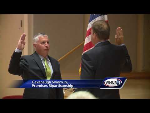 Kevin Cavanaugh sworn into NH Senate