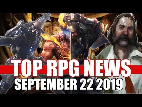 Top RPG News Of The Week - Sept 22 2019 (The Surge 2, Nioh 2, Disco Elysium)