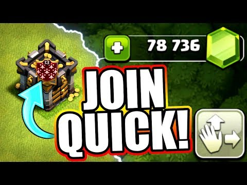 WORLD RECORD CLAN GIFT GEM SPREE! 🔥 Clash Of Clans 🔥 LARGEST CLAN GIFT SPENDING SPREE EVER!