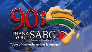 THANK YOU SABC 90% BY Mzwakhe Mbuli