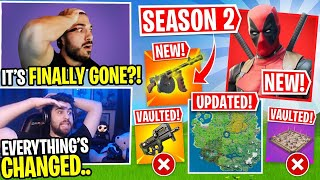 The *NEW* Fortnite Season 2 Update! EVERYTHING CHANGED! Ft. SypherPK