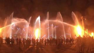 Dubai Festival City Mall Light,Fire and Water show 2017 Секреты Эмиратов Лазерное шоу фонтанов