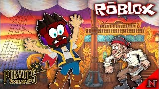 ROBLOX Indonésia #107 Pirates Simulator | Lost to Getaar Sea Bajaak