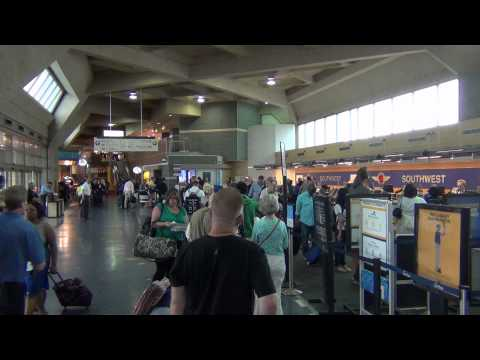 A Tour of Kansas City International Airport (MCI), Terminals A, B, and C (2013 footage)