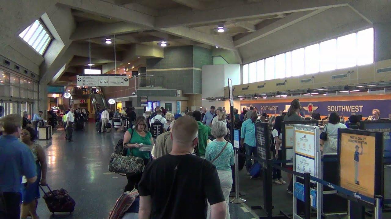 A Tour Of Kansas City International Airport Mci