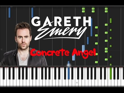 Gareth Emery feat. Christina Novelli - Concrete Angel [Piano Cover Tutorial] (♫)