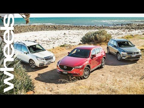 Mazda CX 5 v Volkswagen Tiguan v Subaru Forester Comparison Review Wheels Australia