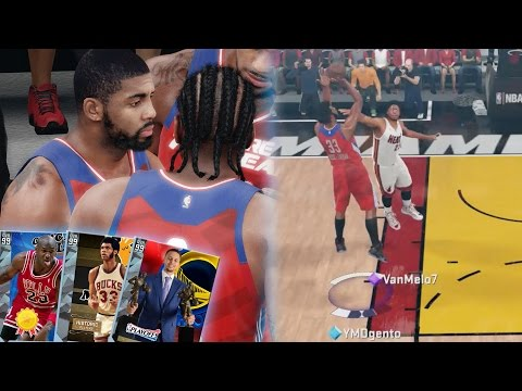 YOU WONT BELIEVE THIS! NO THROWBACK DIAMONDS?! BEST DEFENSE I PLAYED!! NBA 2K16 MyTEAM