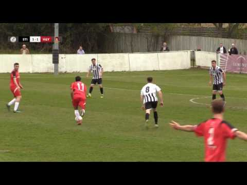 Southern League Cup Final highlights - St Ives Town v Hayes & Yeading - 29th Apr 2017