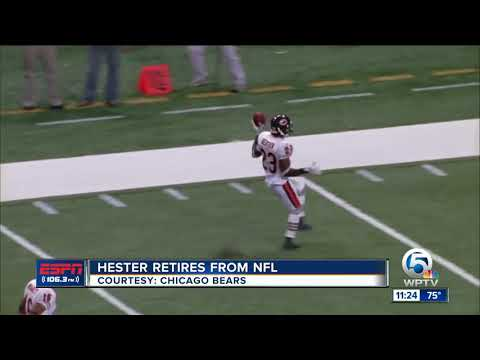 Devin Hester officially retires from the NFL