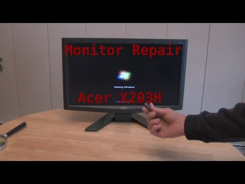 How To Repair Blinking Monitor