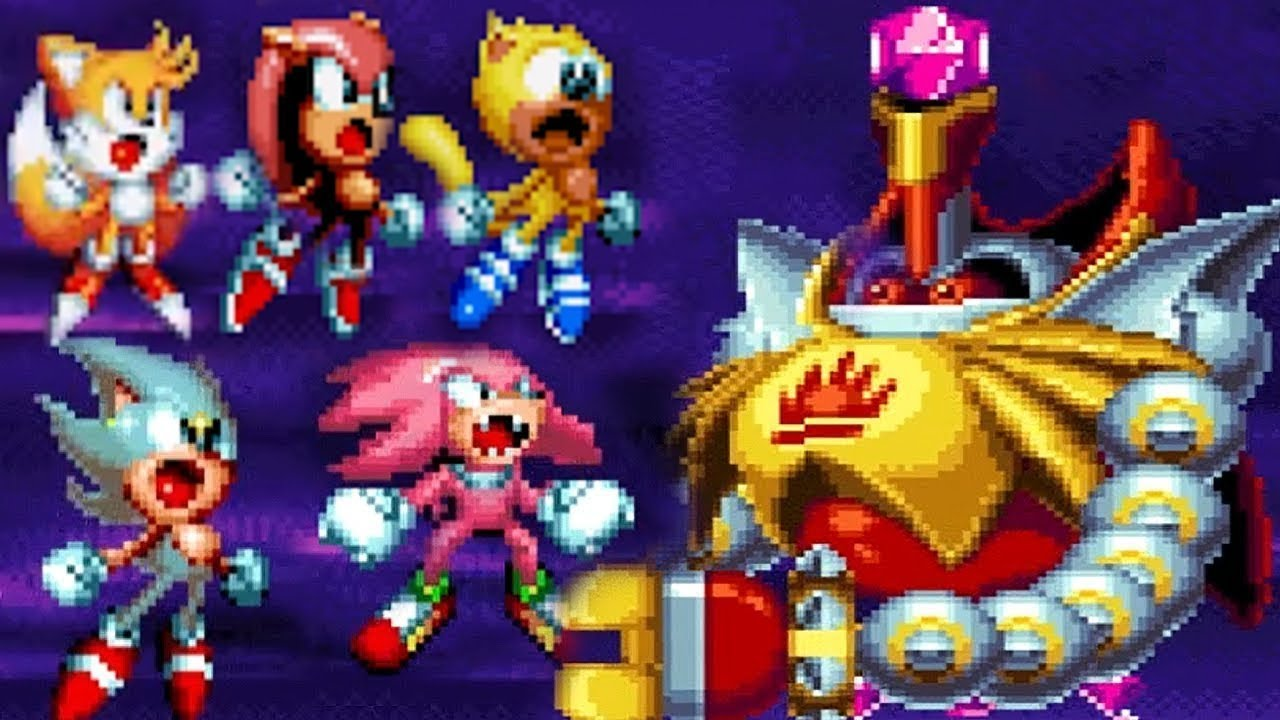 Sonic Mania Plus SUPER Sonic | Super Knuckles | Super Tails | Super Mighty | Super Ray GAMEPLAY