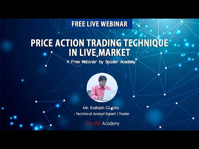 Price Action Trading Complete Tutorial in Live Market with Free Trading Strategy | Webinar