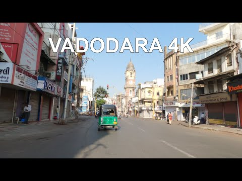 Vadodara City 4K Drive Tour   Vadodara City