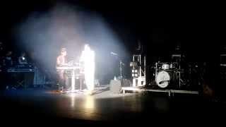 Abraham y Tony Mateo cantan a dúo ''Golden Heart'' Tour Who I AM Cádiz