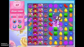 Candy Crush Level 1533 Audio Talkthrough, 1 Star 0 Boosters