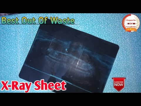 Best Out Of Waste|How to reuse X-RAY Sheet|Best idea to reuse X-RAY Sheet|Experts Of Creativity