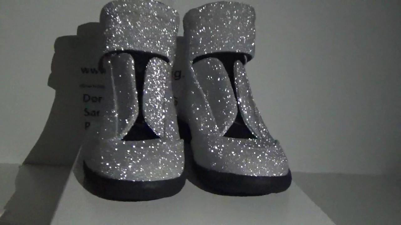 maison margiela glitter shoes